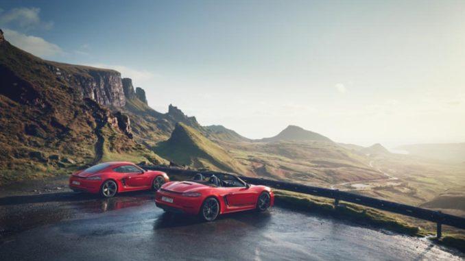 New Porsche Boxster e Cayman