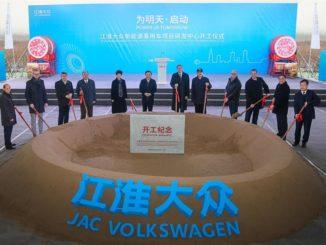 Jac Volkswagen Cina