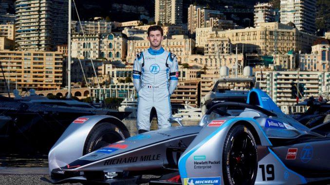 Venturi Formula E Test Driver
