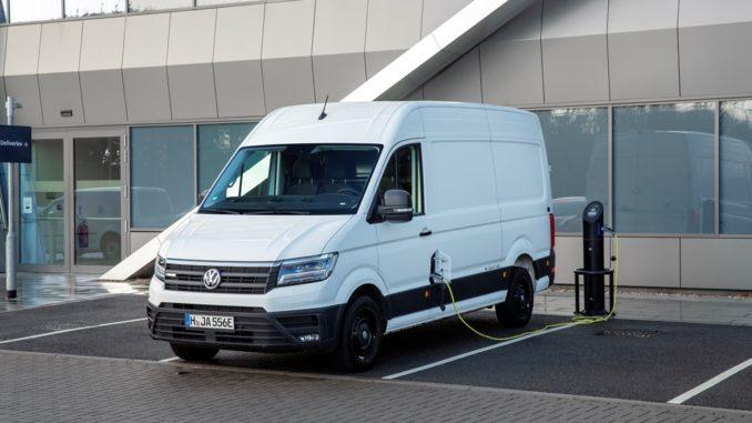 Volkswagen e-Crafter Milton Keynes