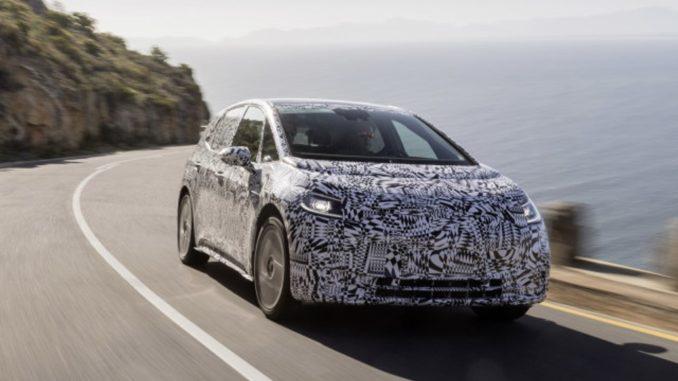 Volkswagen prova I.D. elettrica Sudafrica
