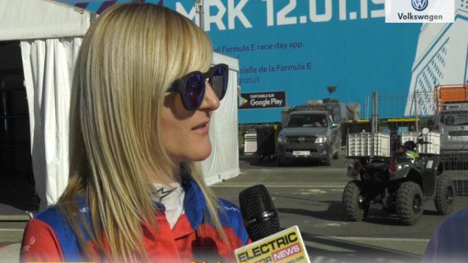 Formula E Marrakesh Cristina Gullace