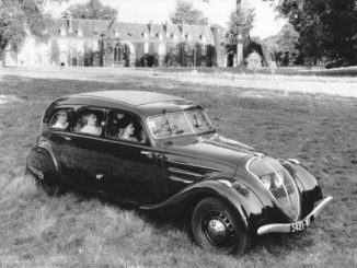 Storia Peugeot Aerodinamica