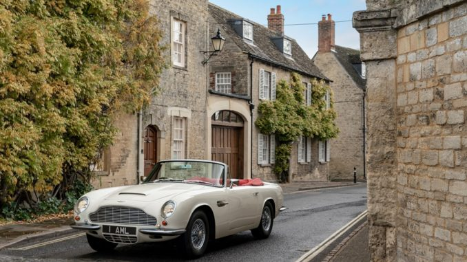 Aston Martin EV Heritage