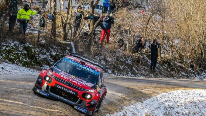 Citroen Rally Montecarlo 2019