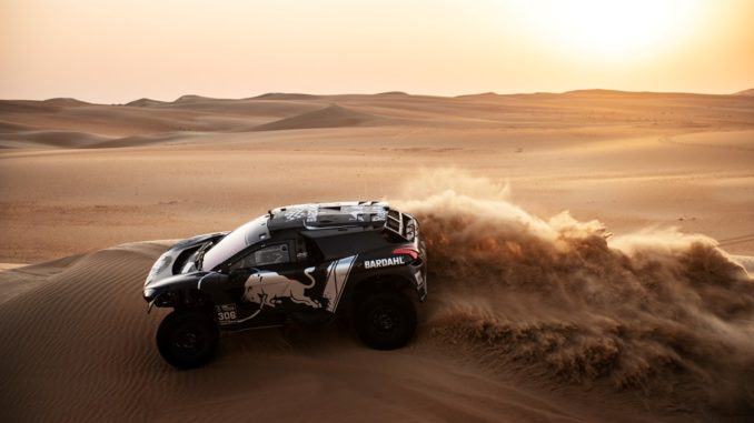 Loeb Dakar 2019 Peugeot
