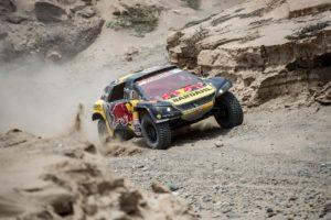Loeb Elena Peugeot 3008 DKR Dakar 2019