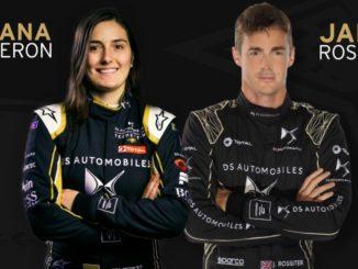 Tatiana Calderon James Rossiter DS Techeetah Formula E
