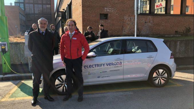 Electrify Verona pali intelligenti