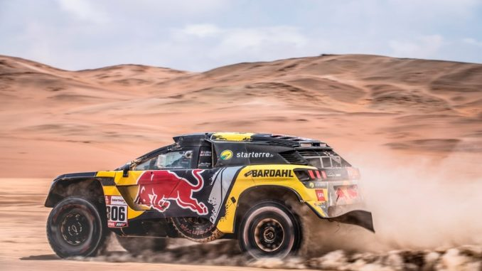 Loeb Peugeot Dakar 2019