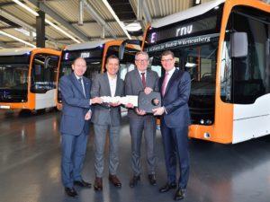 Mercedes Benz eCitaro elettrici per Mannheim e Heidelberg