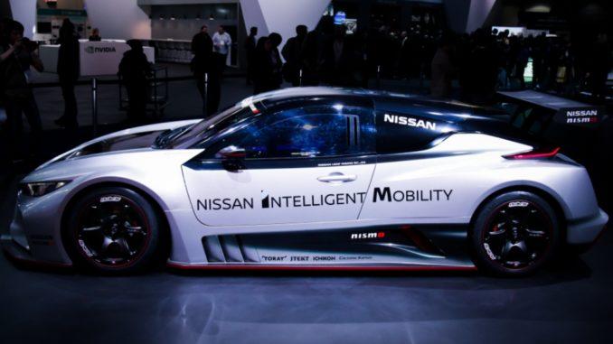 Nissan LEAF Nismo RC Las Vegas