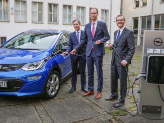 Opel Rüsselsheim città elettrica