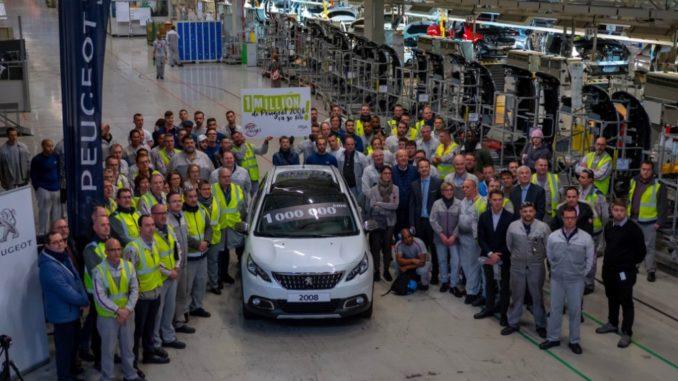 1.000.000 Peugeot 2008 Mulhouse