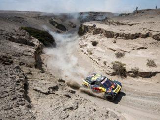 Loeb Peugeot Dakar Peru 2019 Pisco
