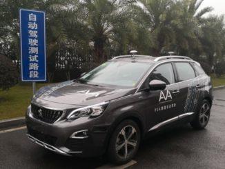 Groupe PSA guida autonoma Cina