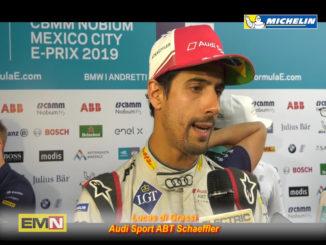 Lucas di Grassi Mexico City E-Prix Formula E