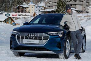 Audi e-tron città partner
