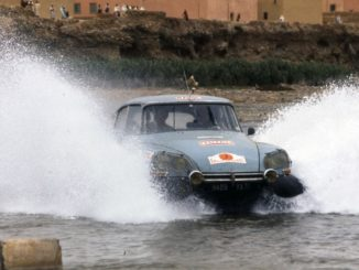 DS Rally del Marocco 1975