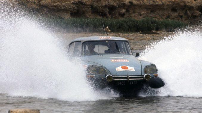DS Rally del Marocco 1975