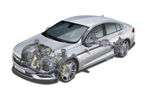 Opel Insignia potenza e grip