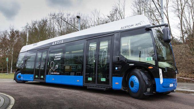 bus Alstom Aptis Santiago