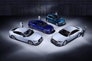 nuovi modelli ibridi plug-in Audi