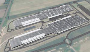 Audi Ungheria tetto fotovoltaico