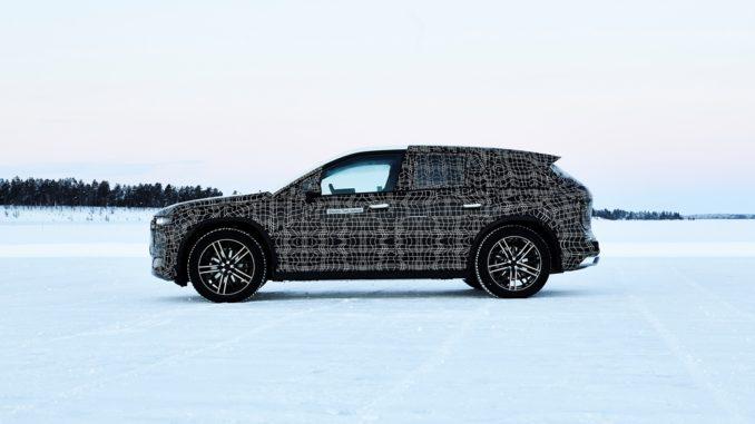 BMW iNext Circolo Polare Artico