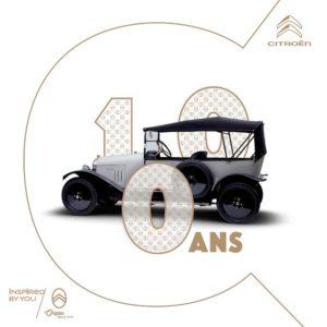 Citroën a Retromobile 2019