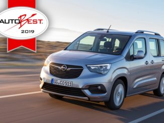"Opel Combo Life è il ""Best Buy Car of Europe 2019"""