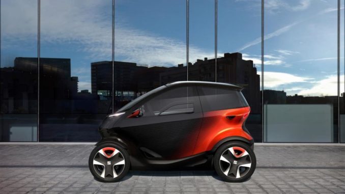 Seat Minimo electric concept car