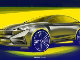 Interni Škoda Vision iV