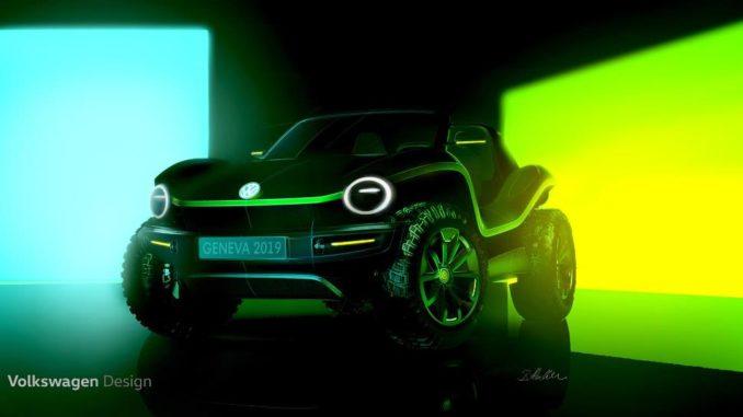 Volkswagen buggy elettrica concept