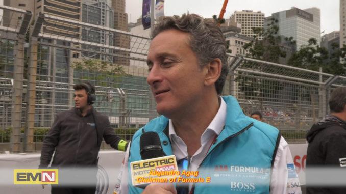 Alejandro Agag Formula E 50