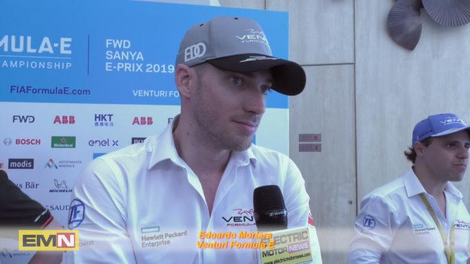 Edoardo Mortara Formula E Sanya 2019
