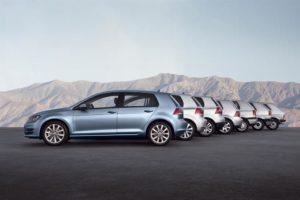 45 anni Volkswagen Golf