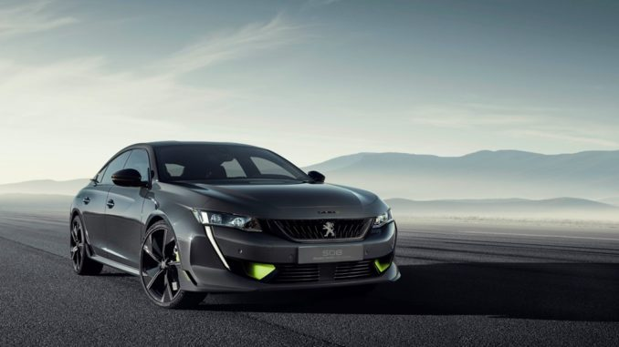 Concept Peugeot 508 Sport Engineered