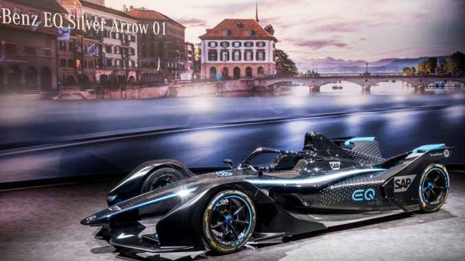Mercedes Benz team EQ Formula E