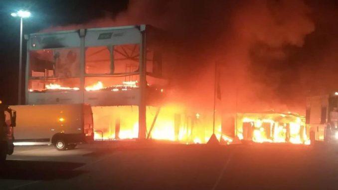 Incendio Moto E Jerez