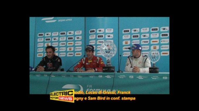 press conference primo podio formula e