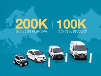 Renault veicoli elettrici Europa