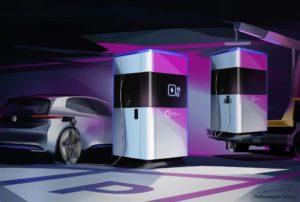 Concept Stazione ricarica rapida Volkswagen