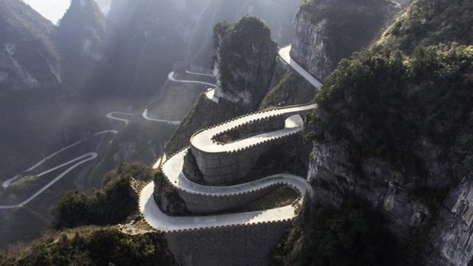 Volkswagen ID. R strada per il paradiso cina