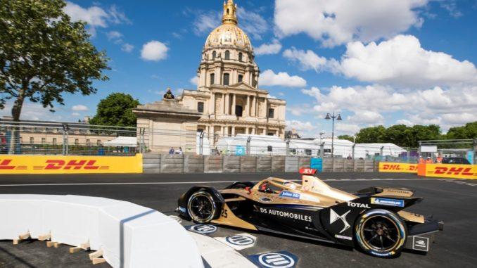 DS Techeetah Paris E-Prix