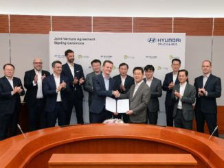 Joinv venture Hyundai Hydrogen Mobility