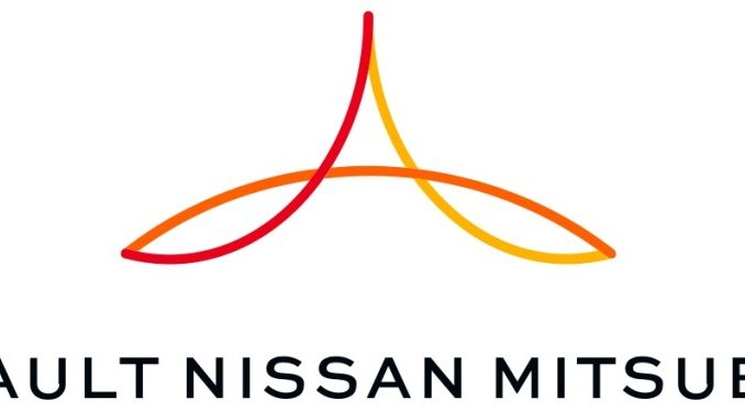 Logo Alleanza Renault-Nissan-Mitsubishi