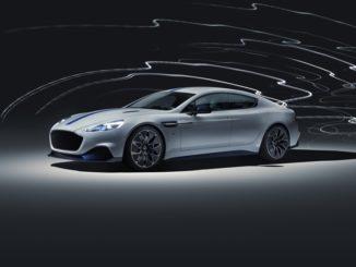 Aston Martin Rapide E Shanghai