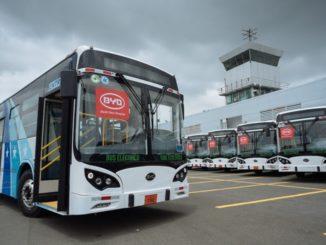 BYD eBus Guayaquil Ecuador