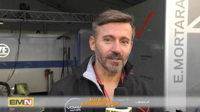 Max Biaggi Formula E Roma
